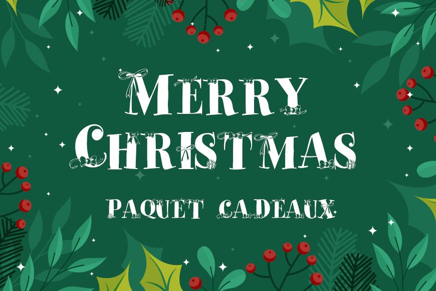 圣诞节英文字体下载