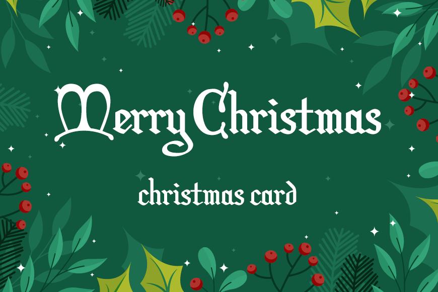 免费圣诞商用字体下载